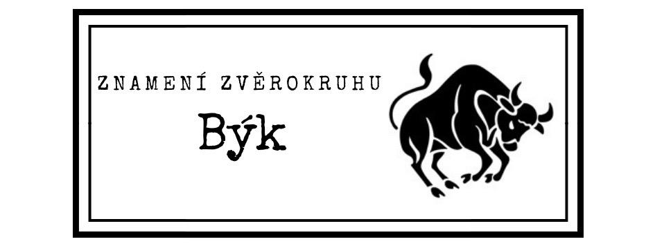 Znamení zvěrokruhu: Býk