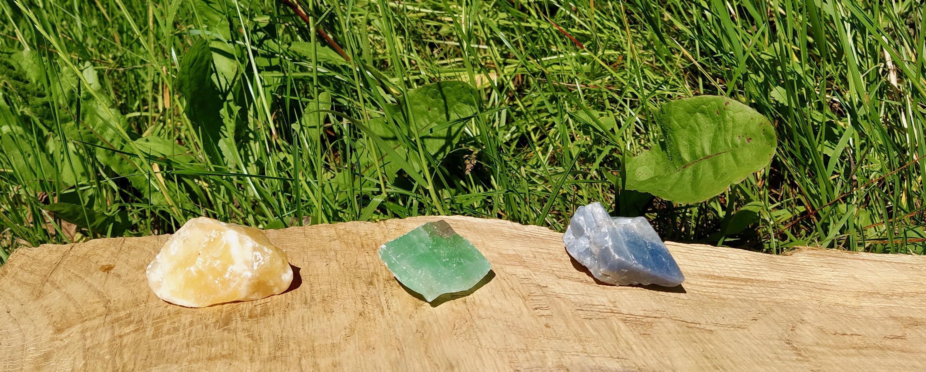 Čištění a nabíjení kamenů –  Kalcit