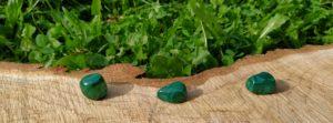 Čištění a nabíjení kamenů – Malachit