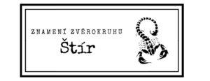 Znamení zvěrokruhu: Štír