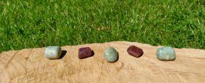 Čištění a nabíjení kamenů –  Rubín
