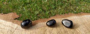Čištění a nabíjení kamenů – Gagát