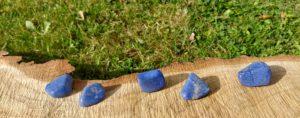 Čištění a nabíjení kamenů – Dumortierit